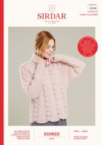 Sirdar Soiree Aran Yarn Knitting Pattern Booklets